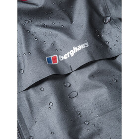 Berghaus GR20 Storm Shell Jacket Men Nickel/Haute Red